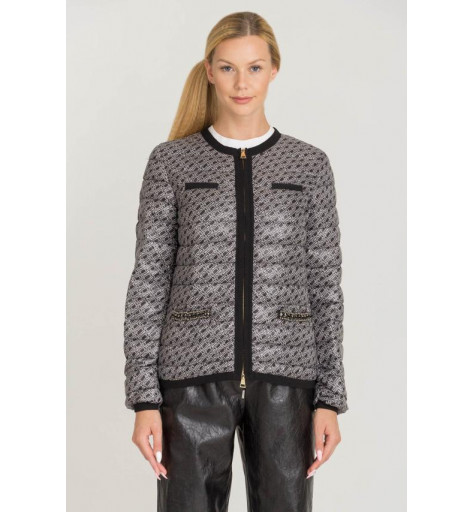 CHAQUETA TWIN SET EN GRIS