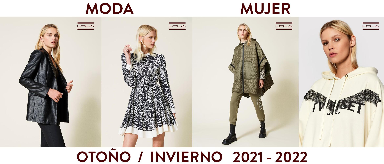 MODA MUJER OTOÑO / INVIERNO 2021 - 2022